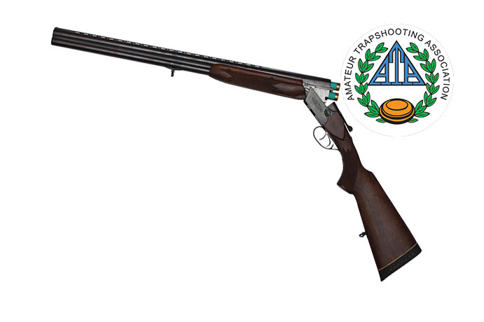 Shotgun with ATA logo